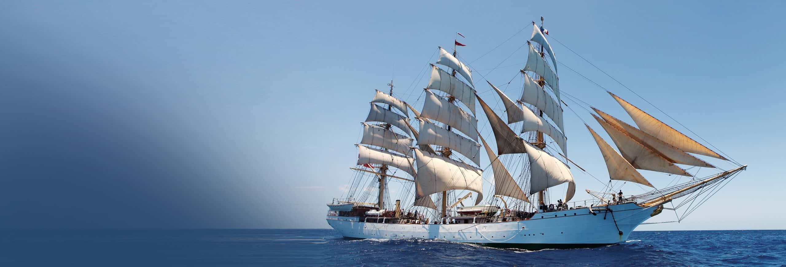 Sejlskib anvendes i uddannelsen